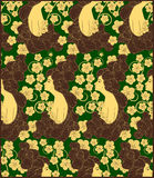 Woman seamless pattern- vector Royalty Free Stock Photos