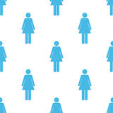 Woman seamless pattern Royalty Free Stock Photography