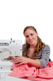 Woman Seamstress Stock Images