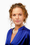 Woman Secretary. Royalty Free Stock Image