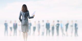 Woman secretary Stock Images