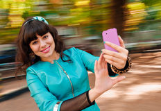 Woman selfie Royalty Free Stock Image