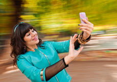 Woman selfie Royalty Free Stock Photo