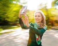 Woman selfie Royalty Free Stock Image