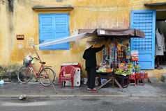 Hoian Vendor Royalty Free Stock Image