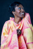 Woman senior African Brazilian royalty free stock photo