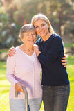 Woman senior mother Royalty Free Stock Photos
