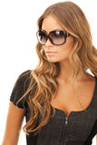 Woman in shades Stock Image