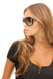 Woman in shades Stock Photography