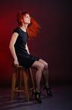 Woman Shake Hair Stock Photos