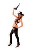 Woman sheriff Stock Photo