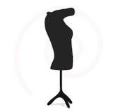 Woman shirt of business. On torso Royalty Free Stock Image