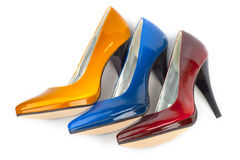 Woman shoe royalty free stock image