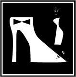 Woman shoe fashion Royalty Free Stock Photography