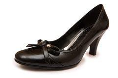 Woman shoe isolated Royalty Free Stock Image