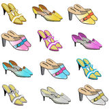 Woman shoes Stock Photography