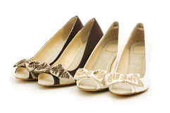 Woman shoes isolated Stock Photo