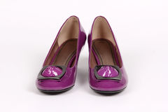 Woman shoes isolated Royalty Free Stock Photography