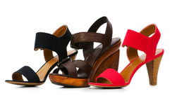Woman shoes isolated Stock Photography