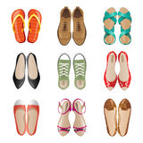 Woman shoes Royalty Free Stock Photo