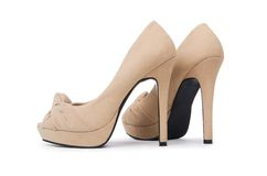 Woman shoes Royalty Free Stock Image