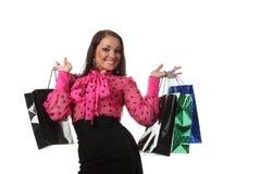 Woman shooping Royalty Free Stock Photos