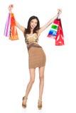 Woman shooping Royalty Free Stock Photo