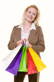Woman shopper Royalty Free Stock Photo