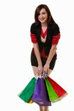 Woman shopper Royalty Free Stock Images