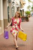 Woman shopping Stock Photos