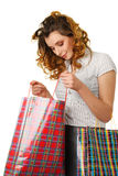 Woman at shopping Stock Photography
