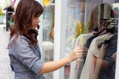 Woman shopping. Royalty Free Stock Photos