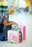 Woman shopping Royalty Free Stock Photo