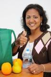 Woman Shopping Stock Photo
