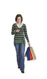 Woman shopping Royalty Free Stock Photos