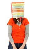 Woman with a shopping bag Royalty Free Stock Images