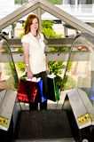 Woman Shopping Bags Royalty Free Stock Photos