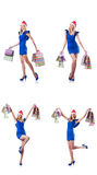 The woman with shopping bags Royalty Free Stock Image