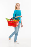 Woman shopping. Stock Images
