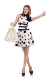 Woman in shopping Royalty Free Stock Image