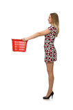 Woman in shopping concept Royalty Free Stock Photo