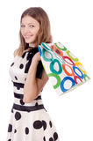 Woman in shopping Stock Photos