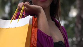 Woman Shopping, Consumer stock footage