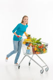 Woman shopping. Stock Photography