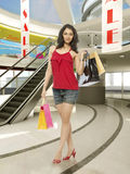 Woman shopping in Mall Royalty Free Stock Image