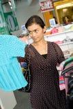 Woman shopping on sale Stock Photos