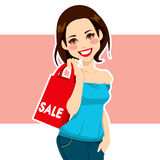 Woman Shopping Sales Royalty Free Stock Photo