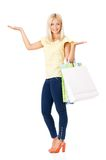 Woman shopping Royalty Free Stock Image