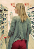 Woman shopping. Royalty Free Stock Photography