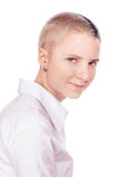 Woman with short hair Stock Image
